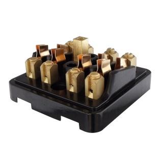 0 237 01 durite 4 way surface mount fuse box for 29mm. Black Bedroom Furniture Sets. Home Design Ideas